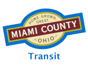 Miami County Logo for Transit